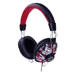 G-Cube Play Head-band Binaural Wired Red mobile headset