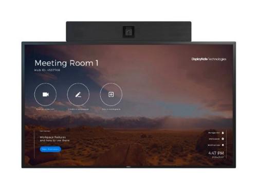 "NEC 55"" InfinityBoard 139.7 cm (55"") LED 4K Ultra HD Touchscreen Interactive flat panel Black"