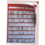 Tarifold 194770 PVC document holder