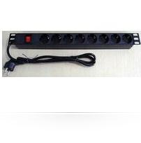 Microconnect CABINETACC23 power distribution unit (PDU) 8 AC outlet(s) 1U Black