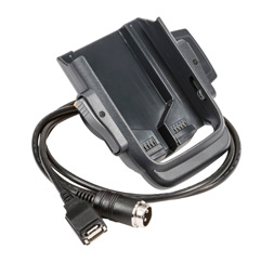 Vehicle Dock w/ 3-pin powercable & std USB cable