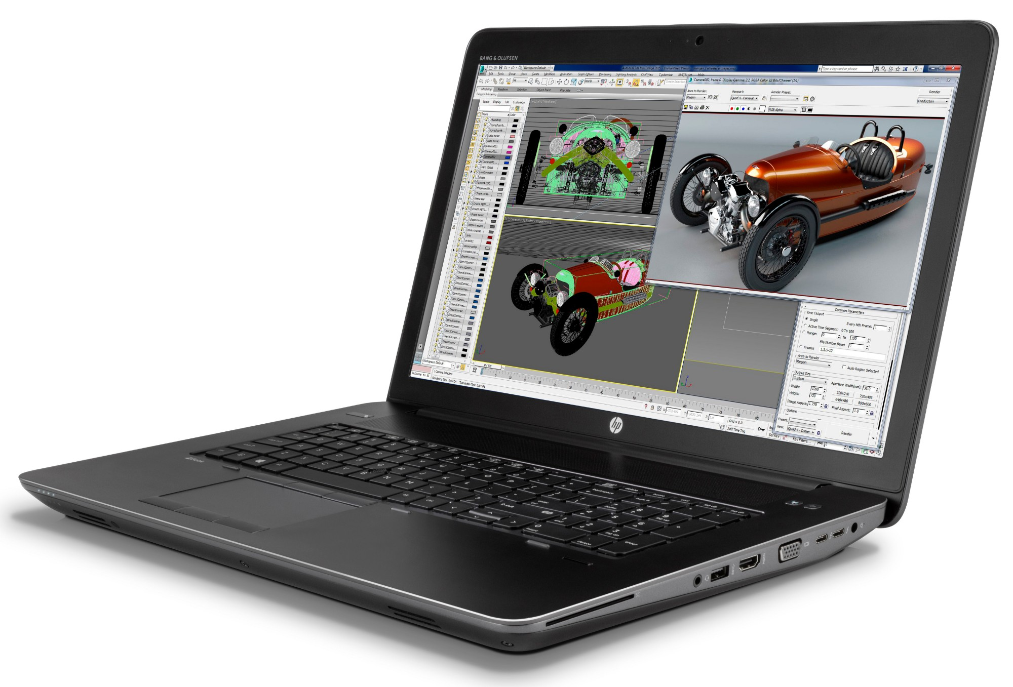 HP ZBook 17 G3 Mobile Workstation (ENERGY STAR), 0 in distributor