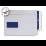 Blake Premium Pure Pocket Window Peel and Seal Super White Wove C5 120gsm (Pack 500)