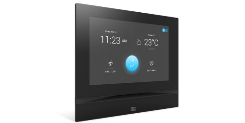 2N Telecommunications 2N Indoor View Schwarz video intercom system Black