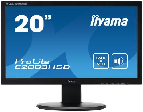 "iiyama ProLite E2083HSD-B1 LED display 49.5 cm (19.5"") HD+ Black"