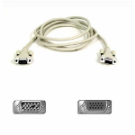Belkin Pro Series VGA Monitor Extension Cable 1.8m White VGA cable