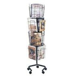 Safco Floor Display literature rack