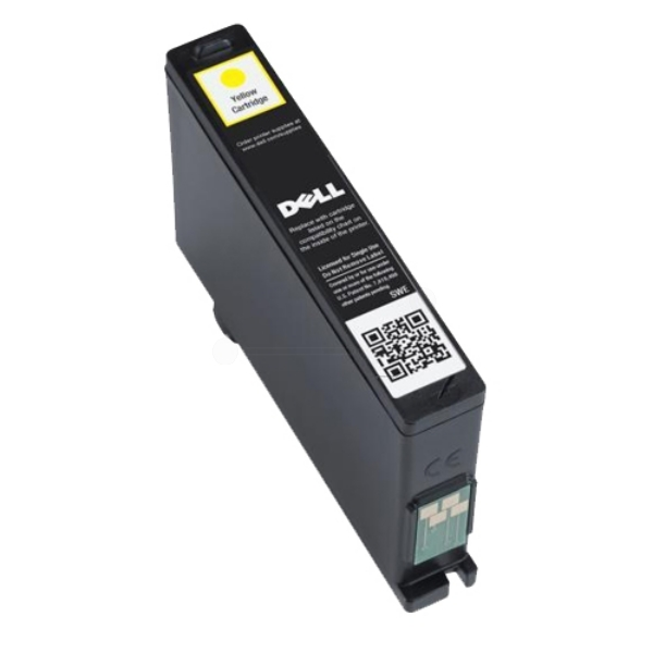 DELL 592-11818 (Y4GFJ) Ink cartridge yellow, 430 pages, 10ml
