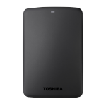 Toshiba Canvio Basics 1TB external hard drive 1000 GB Black