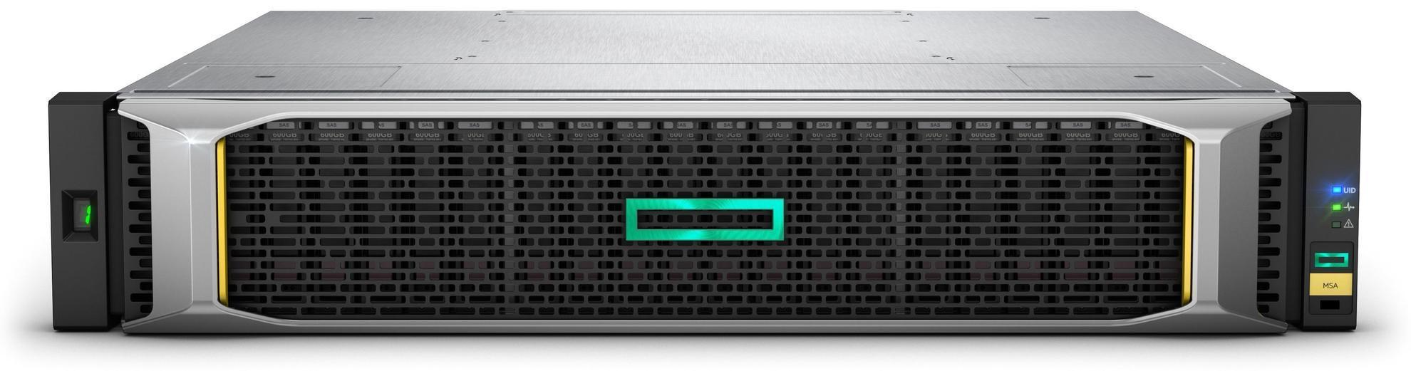 HPE HPE MSA 1050 boîtier de disques Rack [2 U]