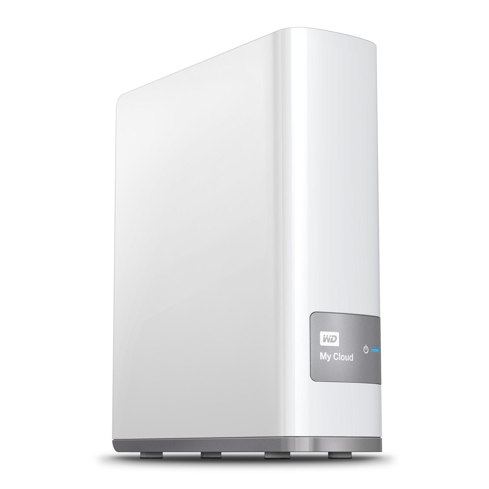 Western Digital My Cloud 3TB Ethernet LAN White personal cloud storage device