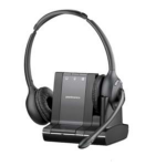 Plantronics SAVI W720-M 3.5 mm Binaural Head-band Black headset