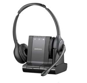 Plantronics SAVI W720-M Binaural Head-band Black headset