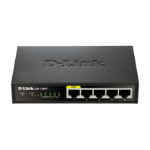 D-Link DGS-1005P network switch Fast Ethernet (10/100) Power over Ethernet (PoE)