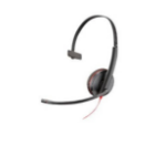 POLY Blackwire 3215 Headset Head-band Black,Red