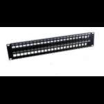 MCL PB-UNI6/48N panel de parcheo 2U