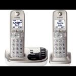 Panasonic KX-TGD222N DECT Caller ID Champagne telephone