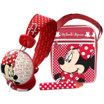 DISNEY Minnie Mouse Tablet Accessory Pack, Red/White (DIA025Z)