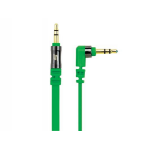 Scosche flatOUT 0.9m 3.5mm 3.5mm Green mobile phone cable