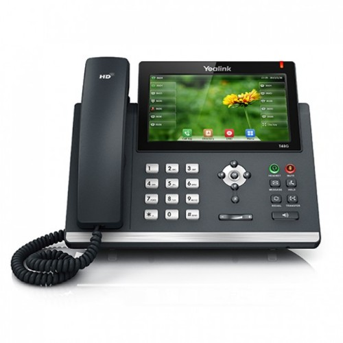Yealink T48GN IP phone Black Wired handset LED