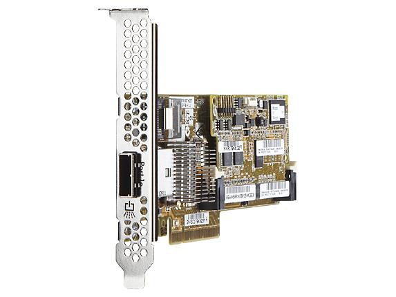 Smart Array P222/512 FBWC 6GB 1-port Int/1-port Ext SAS Controller **Refurbished**