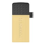 Transcend JetFlash 380G 16GB 16GB USB 2.0 Type-A Gold USB flash drive