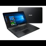 "ASUS X751SA-TY068T 1.6GHz N3050 17.3"" 1600 x 900pixels Black Notebook"
