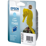 Epson C13T04854010 (T0485) Ink cartridge bright cyan, 400 pages @ 5% coverage, 13ml