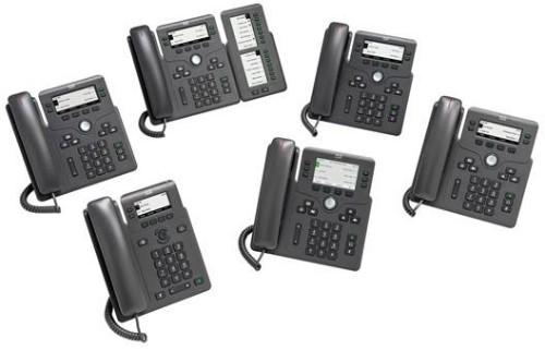 Cisco 6821 IP phone Black 2 lines