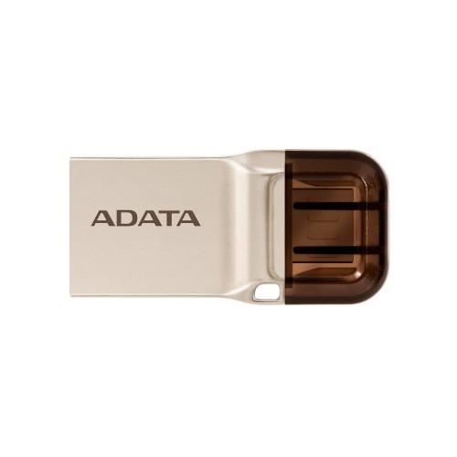 ADATA UC370 USB flash drive 32 GB USB Type-A / USB Type-C 3.2 Gen 1 (3.1 Gen 1) Gold