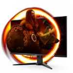 "AOC G2 U28G2AE/BK LED display 71.1 cm (28"") 3840 x 2160 pixels 4K Ultra HD Black, Red"
