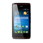 "Acer Liquid Z200 4"" Single SIM 0.5GB 4GB Black"