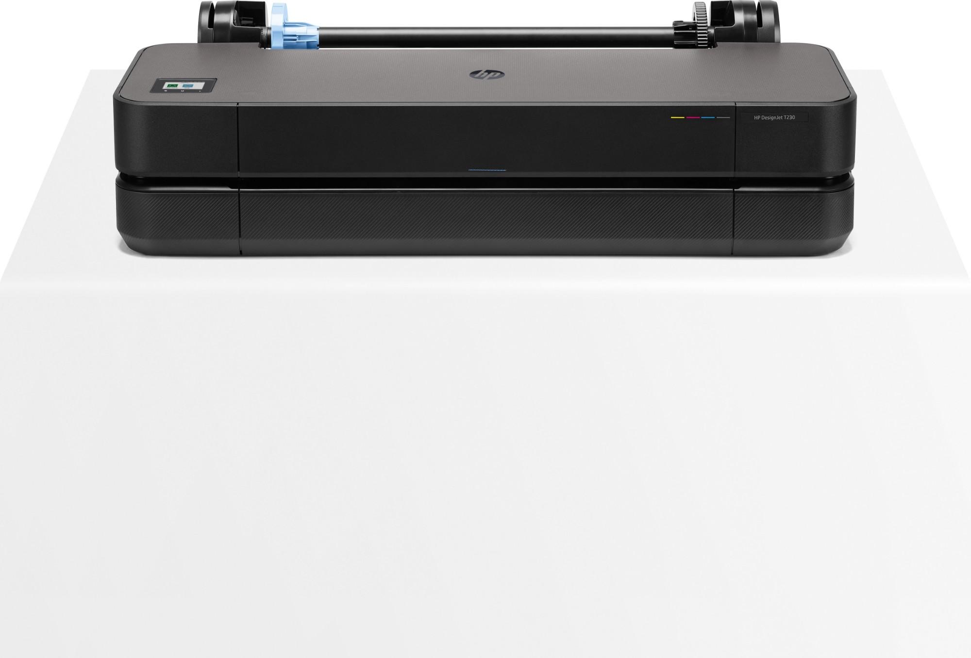 HP Designjet T230 large format printer Wi-Fi Thermal inkjet Colour 2400 x 1200 DPI A1 (594 x 841 mm) Ethernet LAN