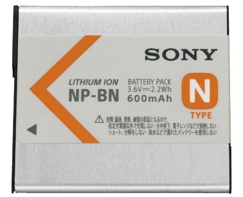 Sony NP-BN Lithium-Ion (Li-Ion) 600 mAh