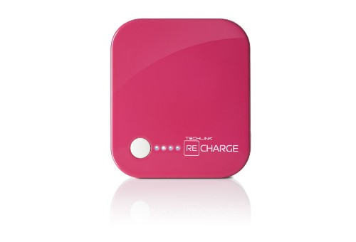 Techlink RC4000 power bank Pink Lithium Polymer (LiPo) 4000 mAh