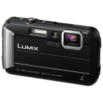 "Panasonic Lumix DMC-FT30 Compact camera 16.1 MP CCD 4608 x 3456 pixels 1/2.33"" Black"