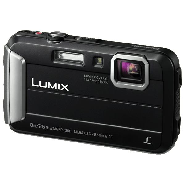 """Panasonic Lumix DMC-FT30 Compact camera 16.1MP 1/2.33"""" CCD 4608 x 3456pixels Black"""