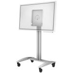 "Peerless SR560-FLIP flat panel floorstand 139.7 cm (55"") Portable flat panel floor stand White"