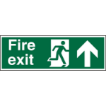 Stewart Superior Fire Exit Up Sign