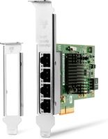 HP Intel I350-T4 - Network adapter - PCIe 2.1 x4 low profile - Gigabit Ethernet x 4