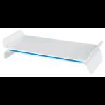 "Leitz 65040036 monitor mount / stand 68.6 cm (27"") Blue, White"