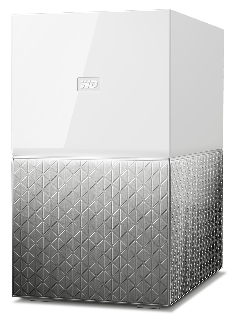 Western Digital My Cloud Home Duo personal cloud storage device 4 TB Ethernet LAN Grey