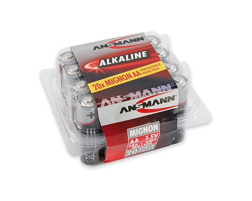 Alkaline Mignon Battery Lr6 (aa) 1x20 1.5v