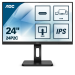 "AOC 24P2C LED display 60,5 cm (23.8"") 1920 x 1080 Pixels Full HD Zwart"