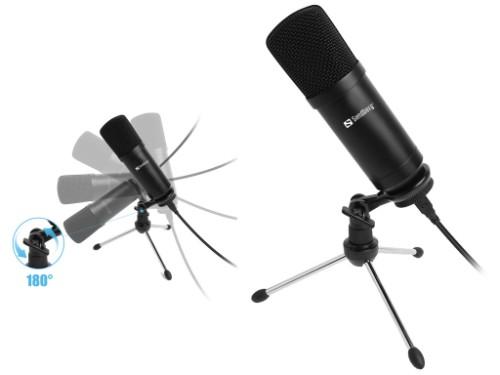 Sandberg Streamer USB Desk Microphone
