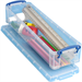 REALUSE REALLY USEFUL PENCIL/STAT BOX 1.5LCLEAR