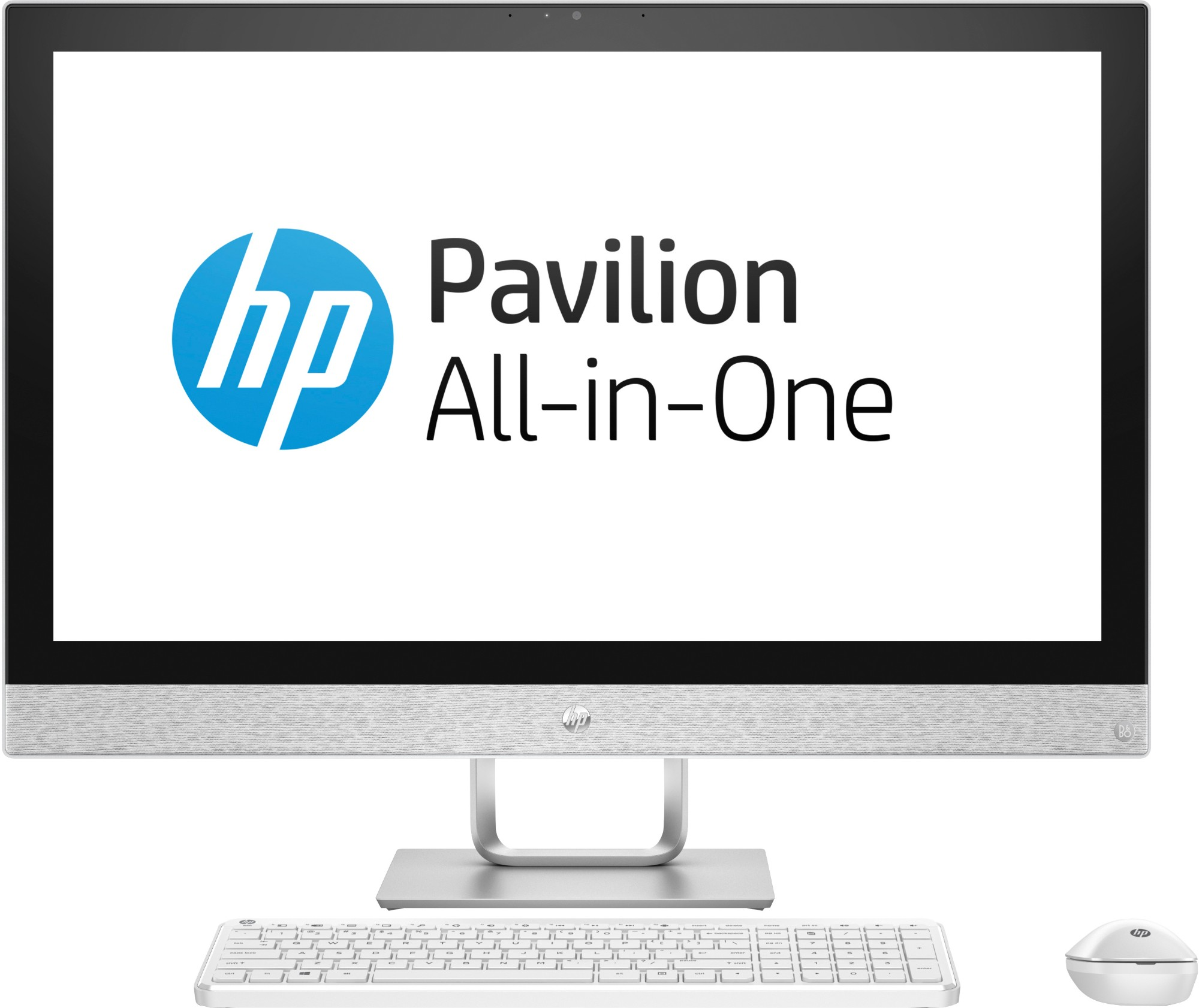"""HP Pavilion 27-r178a 68.6 cm (27"""") 2560 x 1440 pixels 2.40 GHz 8th gen Intel® Core™ i7 i7-8700T White All-in-One PC"""