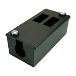 Cablenet 2 Way POD Box Vertical Row LJ6C 70mm Deep 32mm Entry