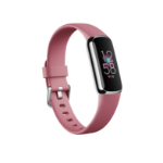 Fitbit Luxe AMOLED Wristband activity tracker Pink, Platinum