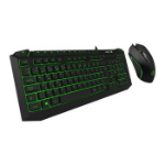 GAMEMAX Pulse Kit 7 Colour RGB Keyboard w/ Pulsing Mouse USB 2.0 Multimedia Keys Anti-Ghosting 3200dpi Optic